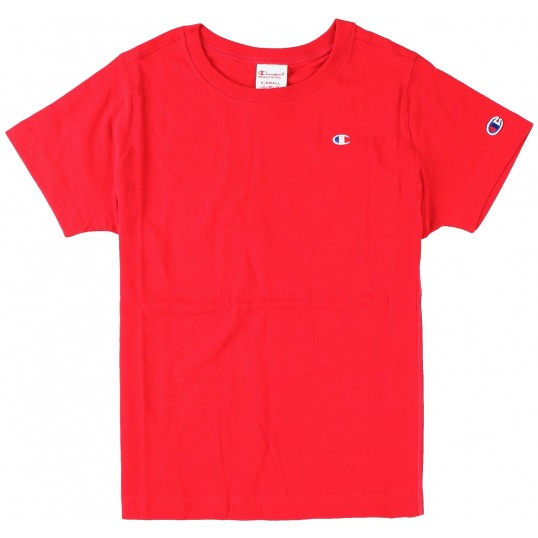 Reverse Weave Woman Classic T-Shirt Red