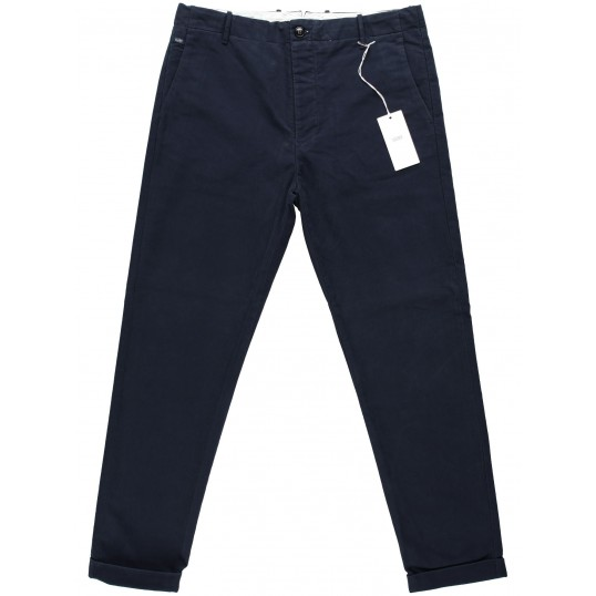 Atelier Tapered Stretched Chino Utility Navy