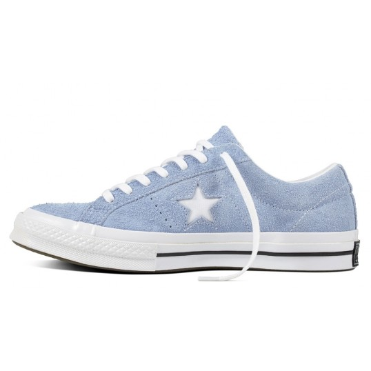 One Star OX Suede Blue Chill