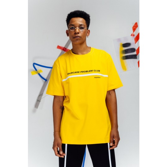 T-Shirt SKINCARE Yellow