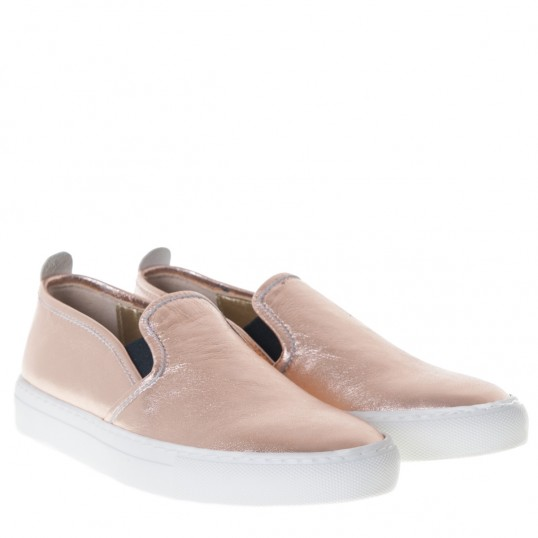 Slip-on Sneaker Rosa Metallic