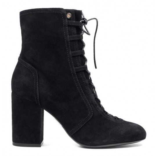 Lace-up Ankle Boots Negro