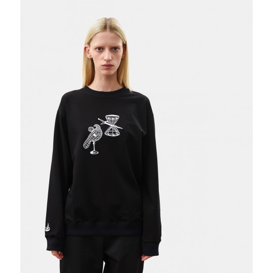 Sweatshirt SANDGLASS Black