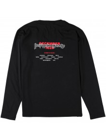Long Sleeve 'Corrosion' Black