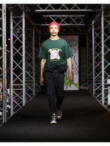 Oversize T-Shirt  'Angel' Green