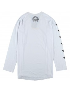 Crime X Punishment Longsleeve 'Охрана'  White