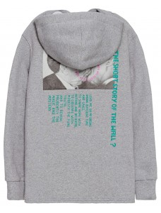 'The Kiss' Women Hoodie Grey