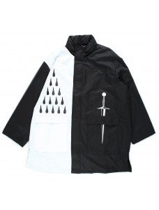 VOLCHOK Raincoat Black/White