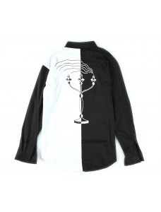 Shirt Black/White