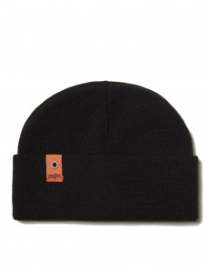 Beanie 'Small Patch' Black