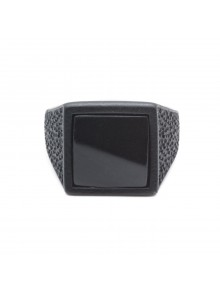 Square Ring Roof Total Black